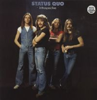 "Status Quo-Introspective (Secondhand Special Edition) [12"" Clear Vinyl 1990]"